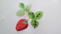 水彩画草莓窦老师教画画