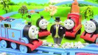 托马斯和他的朋友们在小轨道玩