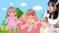 kids tv小伶玩具同款玩具,咪露娃娃的神秘包裹哦,快快打开看看吧