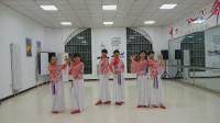 阳光美梅广场舞【我在春天等你来】形体舞-团队版