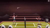 羽毛球主播霸气逼人 对手直接崩溃