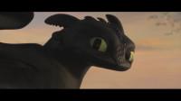 《驯龙高手3》小嗝嗝放手无牙仔,对光煞说:他是你的了,挥泪告别!
