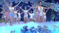 小仙女泳装秀:星姐12强最终比拼,谁才是最佳体态佳丽?