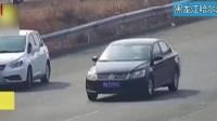 黑龙江哈尔滨:高速路上拦车问路  男子多次违法被记18分