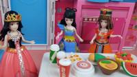 叶罗丽公主日记:孔雀和黑香菱为罗丽准备惊喜生日派对,真用心!