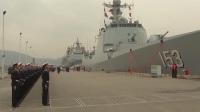 中国海军第32批护航编队起航奔赴亚丁湾