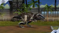 侏罗纪世界游戏第1024期:霸王龙的亲戚血王龙★恐龙公园★哲爷和成哥