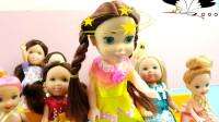 芭比娃娃玩具故事,小朋友长大后理想,老师听了很无语