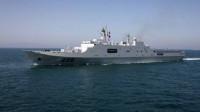 中国海军这一巨舰为何现身海外,专家:急需提升一战力