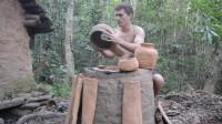 澳洲小哥 第25集 原始工艺白蚁粘土窑