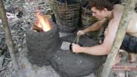 澳洲小哥 第29集 简体鼓风机和加热炉实验