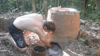 澳洲小哥 第39集 原始技术木灰水泥
