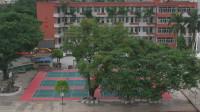 航拍广州黄埔区,依山傍水工业发达,这里的学校也很漂亮!