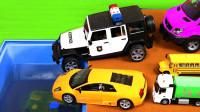 汽车玩具总动员 挖掘机赛车警车大巴车大卡车儿童玩具车