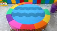 太空沙DIY泳池,为乐迪和他的好朋友们制作车库