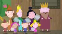 班班和莉莉的小王国:国王带着大家来找矮人的老板让他停止挖掘, 老板说地面下他才是老板