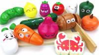 寓教于乐!超级好玩的水果蔬菜配对游戏,简直太有趣了