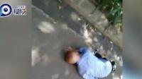 暖心!老人晕倒路边 热心市民伸援手!