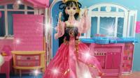 叶罗丽公主日记:叶罗丽娃娃帮助主人整理房间,王默好幸福!