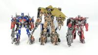 变形金刚电影3中的三巨头擎天柱御天敌威震天机器人变形玩具