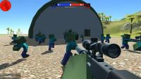 战地模拟器:水陆两栖坦克登场,威力怎么样呢?