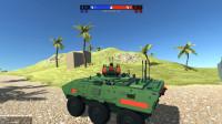 战地模拟器:水陆两栖坦克登场,单枪匹马进攻敌方基地?