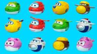 超级飞侠3种形态的趣变蛋 能变飞机还能变机器人哦
