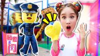 [嘿基尼秘密之门] 乐高乐园 警察与小偷游戏 pretend play-下集