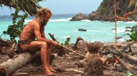 男子意外流落荒岛,靠着一个排球,独自一人生活了1500天