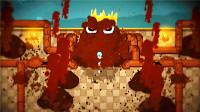 [五花喔]打败淤泥BOSS-不是故意的-3-休闲解谜冒险像素游戏