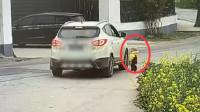 心痛!苏州一幼童独自走到轿车盲区 惨遭碾压
