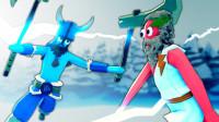 小飞象解说✘全面战争模拟器 冰河世纪宙斯挑战维库人到底谁更强呢?