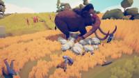 全面战争模拟器:暴躁猛犸象登场,对方会被团灭?
