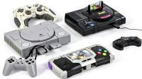 PS初代游戏机X版变形金刚擎天柱威震天Real Gear机器人变形玩具