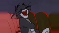 猫和老鼠:在电影院看自己演的电影什么感受,杰瑞和汤姆反应真实