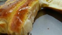 在家烤面包掌握有窍门,不用黄油,蓬松暄软,香甜有营养