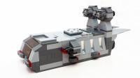 乐高MOC拼装大型宇宙飞船积木