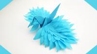 史上颜值最高的千纸鹤!秒杀一切千纸鹤,造型太梦幻了!