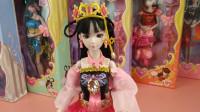 精灵梦叶罗丽娃娃玩具分享,罗丽穿上时尚礼服原来也好漂亮!