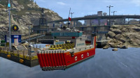 乐高城市警察风云 收集lego积木方块 制造摆渡船