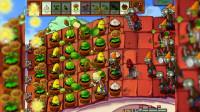 植物大战僵尸 电脑版 二周目 5-3 前排大蒜向日葵
