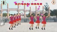 阳光美梅原创广场舞【喝的不是酒是感情】健身舞附动作分解-编舞:美梅
