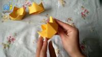 晓丽老师教你做折纸,小朋友们来给自己做个《皇冠》吧