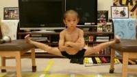迷你版李小龙,3岁开始健身,练武就是他的娱乐项目