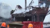 智利:一小型飞机坠毁致民宅起火  六人死亡