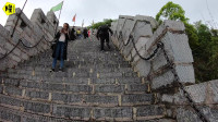 在贵州四大古镇之一驻车,第一爬楼梯爬到觉得恐高,上来怎么下去