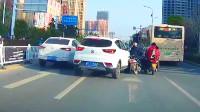 被加塞第一条,让速不让道,中国交通事故合集2019