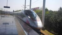 "G68次列车搭载""复兴号"" CR400AF重联型车底,上行进株洲西站5站台!"