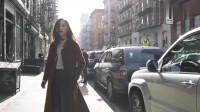 美女街拍穿搭分享,洋装、大衣  优雅  迷人  显气质,怎么穿都好看