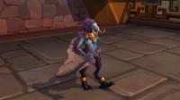 魔兽世界8.2PTR赞达拉巨魔德鲁伊变形跳舞动作,这也算舞蹈?